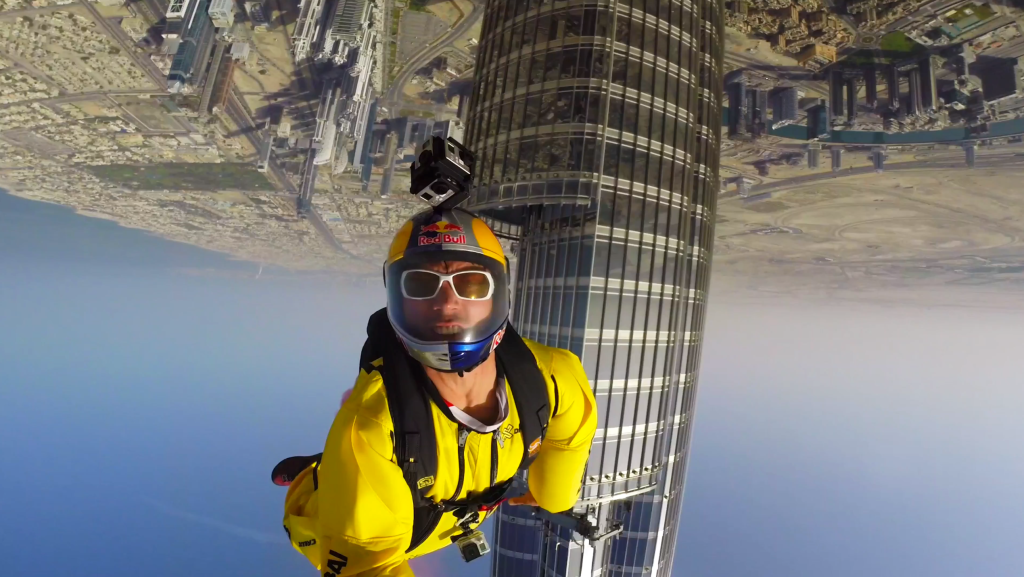 Basejumping in Dubai