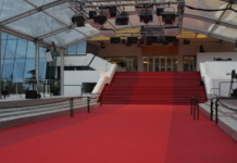 Yet it is quiet on the red carpet. Only a top journalist in Cannes have access to the best spots.