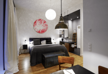 Gorki Apartments Bett