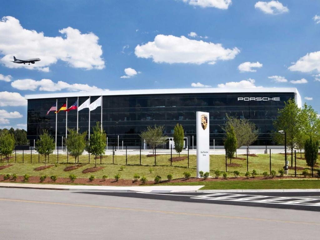Das neue US-Hauptquartier von Porsche. (Foto: Porsche)