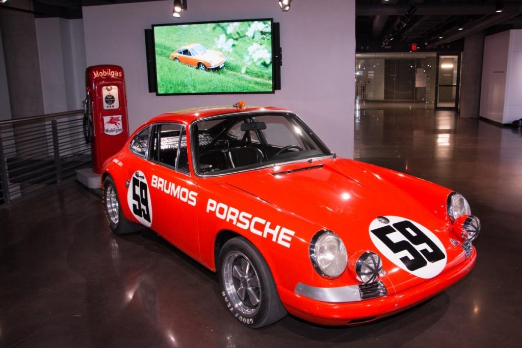 Hier steht auch ein Brumos Porsche. (Foto: Porsche)