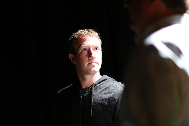 Mark Zuckerberg gründete Facebook.