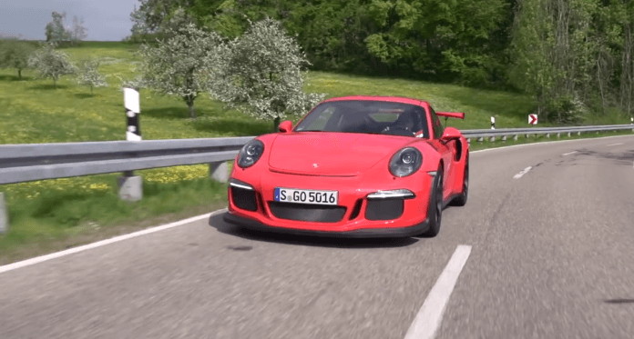 Neuer Porsche 911 GT3 RS