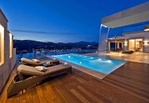 Wow. Luxus Immobilien lohnen sich eben schon! Die Aussicht ist der Hammer. (foto: