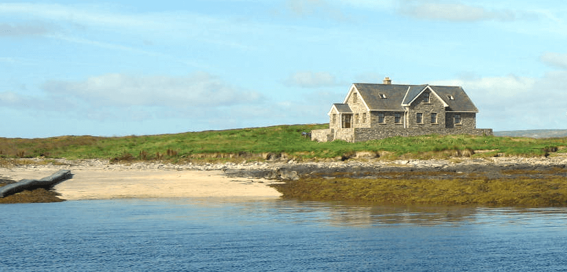 Crebarrin Island, Haus, Strand, 2,Irland, VLADI PRIVATE ISLANDS