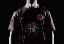 Die 10 besten Trikots der Bundesliga Eintracht Frankfurt Heimtrikot