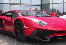 Lamborghini Aventador Motivation zum Millionär werden