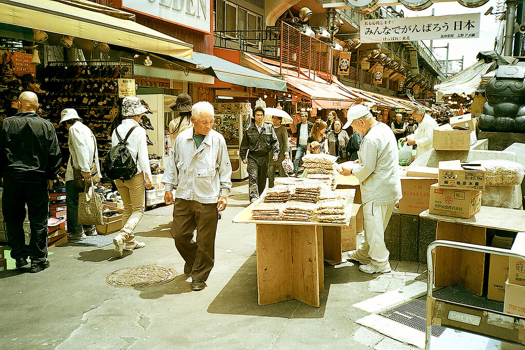 Traditionelle Nachbarschaft in Japan (foto: Takayuki Miki)