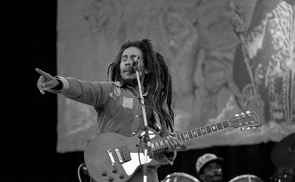Bob Marley ist auf Platz #2 der bestverdienenden, toten Stars. (Foto: Eddie / monosnaps)