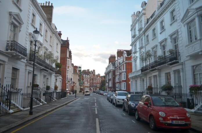 Preise für Luxusvillen in London brechen ein