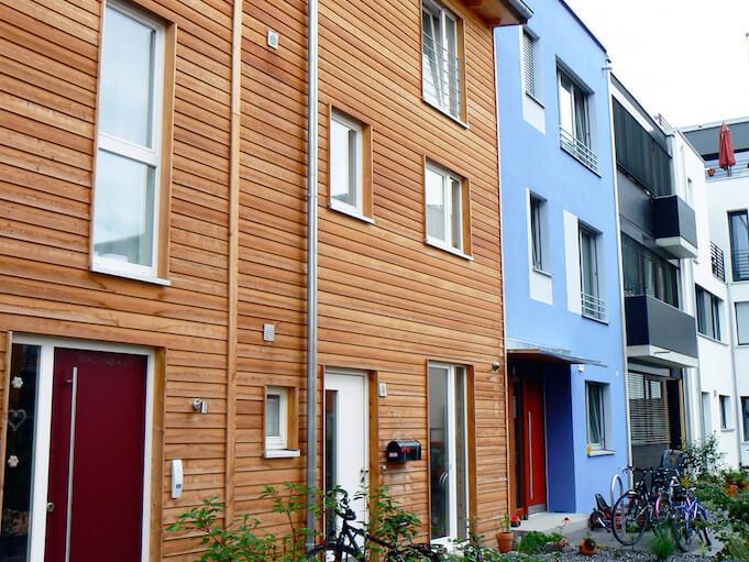 Ein- und Zweifamilienhäuser werden im Immobilienmarkt in Deutschland teurer. (Foto: dierk schaefer)