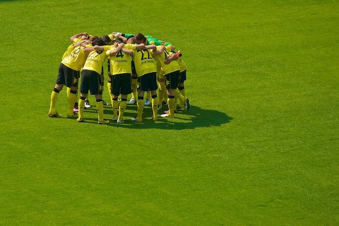 Fußballaktien: BVB riskiert das Geld seiner Fans bei jedem Spiel (Foto: Peter F.)