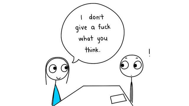 Manchmal wollen Arbeitgeber nur testen, ob man auf offentsichtliche Fragen reinfällt. (Foto: Was ist Ihre größte Schwäche? (Foto: studio tdes))