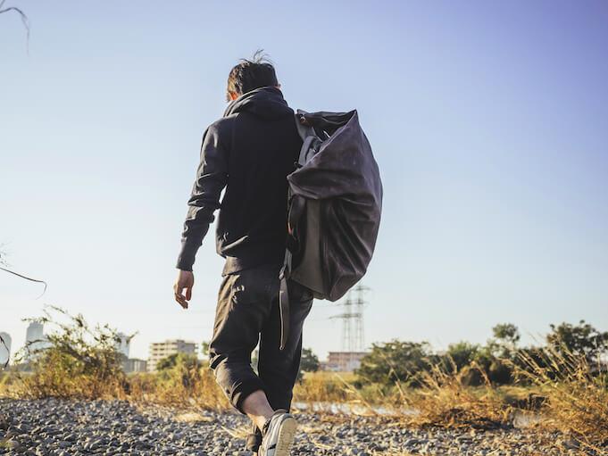 Minimalismuss extrem: das Leben aus dem Rucksack (Foto: Zhao !)