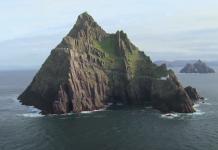 Star Wars: Irische Insel wird zur Touristenattraktion 2 (Foto Screenshot)