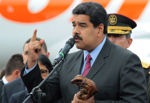 Nicolas Maduro Flugzeuge voller Geldscheine