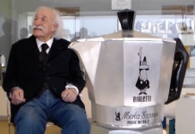 Renato Bialetti und die Moka Express von Bialetti