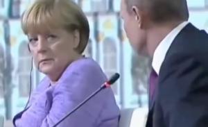 Merkel Putin AfD