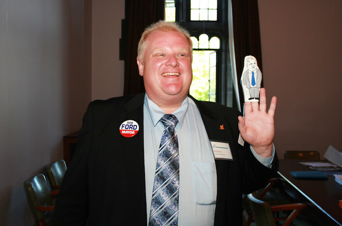 """Der Ex-Bürgermeister von Toronto Rob Ford sorgte mit seinem Eingeständnis für Furore, hin und wieder Crack zu rauchen. (Foto: flickr/<a href=""""https://www.flickr.com/photos/shaunpierre/4662198802/"""" target=""""_blank"""">Shaun Merritt</a>)"""