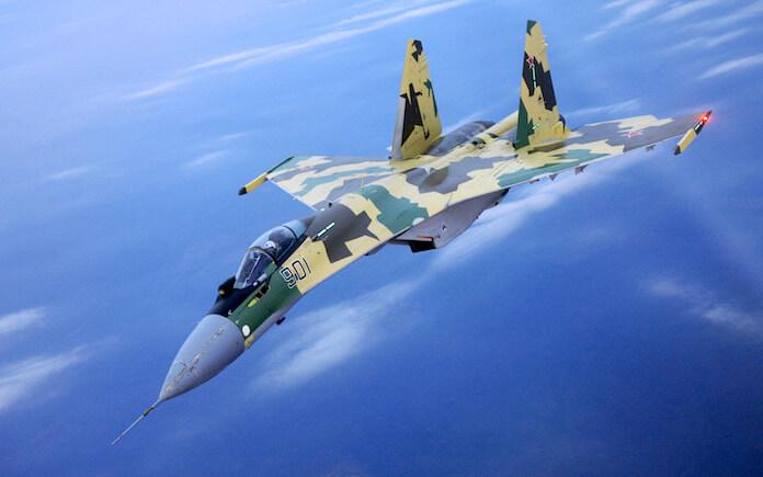 Russische Luftwaffe in Syrien ist der Nato überlegen su-35