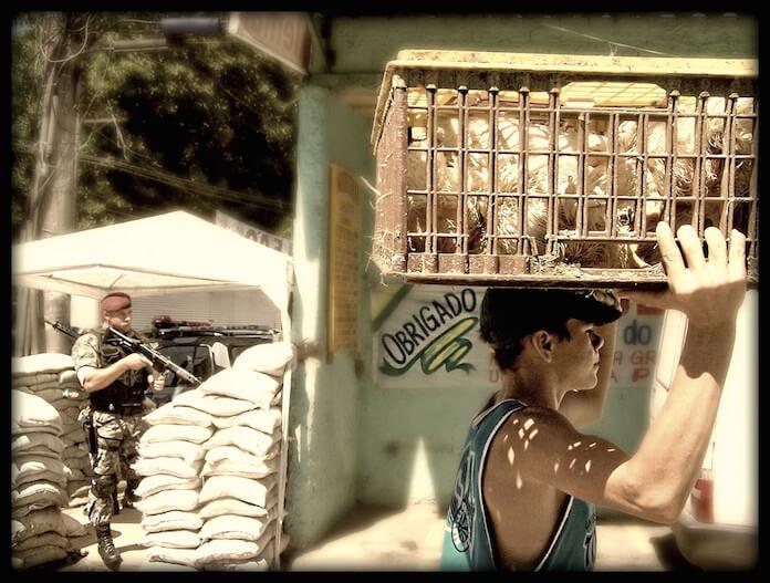 Der Polizei in Brasilien kann man nicht trauen (Foto: Daniel Zanini H.)