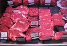 Rotes, billiges Fleisch tötet die arme Bevölkerung in Schottland (Foto: Winfried Mosler)
