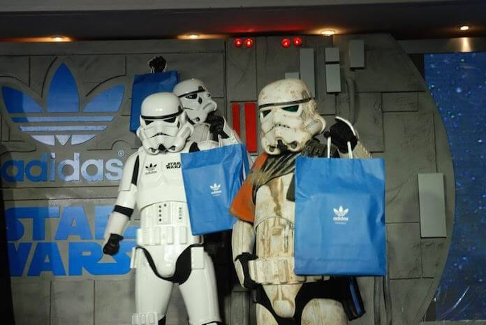 Adidas and Starwars (Foto: adifansnet