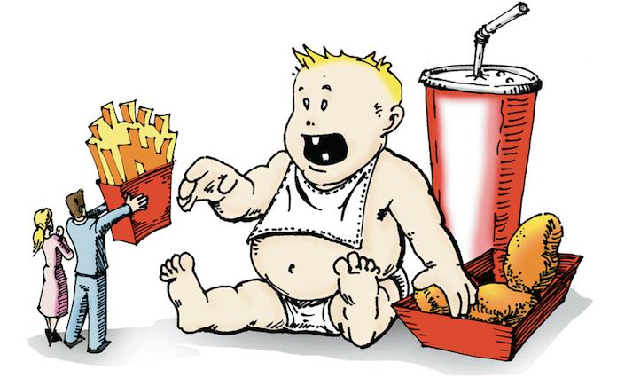 Europas falsch ernährte Kinder leiden an Fettleber