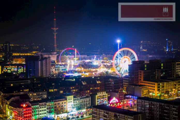 Hamburg Reeperbahn and Dom Carnival. Taken by Stimmungsfänger via Flickr.