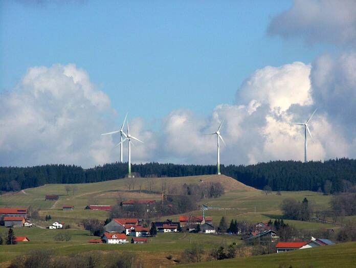 Wind generation in Wildpoldsried. (Source)