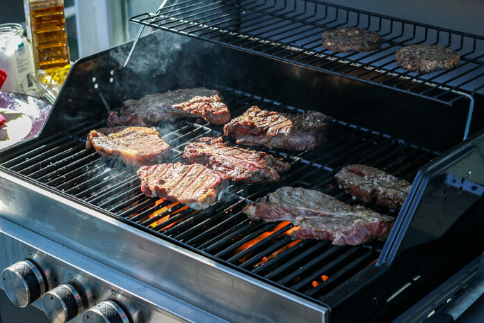 Gas grill_Grill party