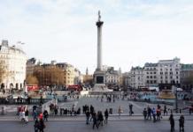 Britische Immobilienfonds müssen Gebäude abstoßen Trafalgar Square