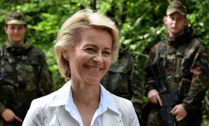Ursula von der Leyen Bundeswehr Munitionsmangel