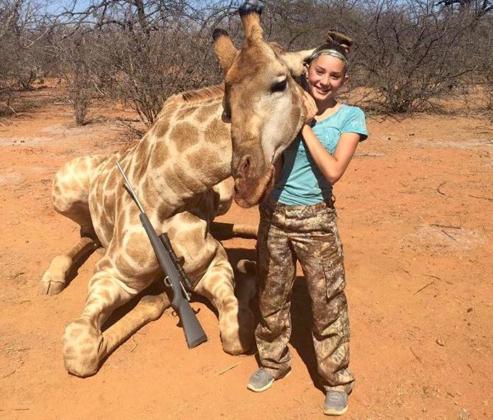 Aryanna Gourdin Giraffe