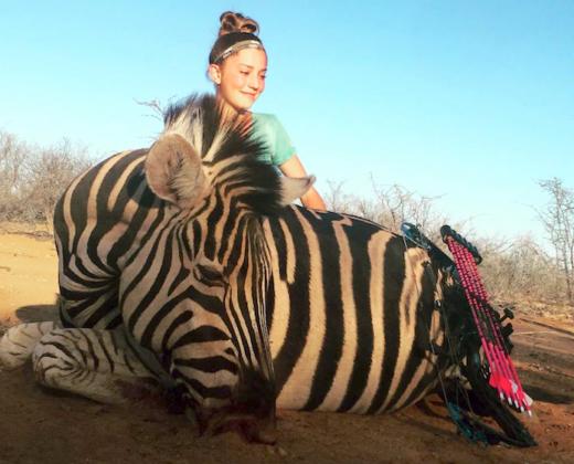 Aryanna Gourdin Zebra