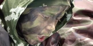 Russische Jungen Ferien Militärlager