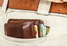 Bezahlen schneller Bargeld Karte