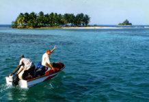 Hier: eine private Insel an der Küste von Belize. (Foto: anoldent)