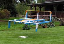 Amazon ist das innovativste Unternehmen. Hier: eine Amazon Prime Air Drohne bei der Landung. (Foto: Amazon)