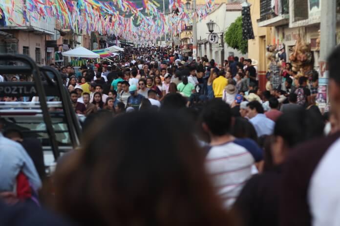 Der Carneval in Tepoztlan zieht Touristen aus ganz Mexiko an.