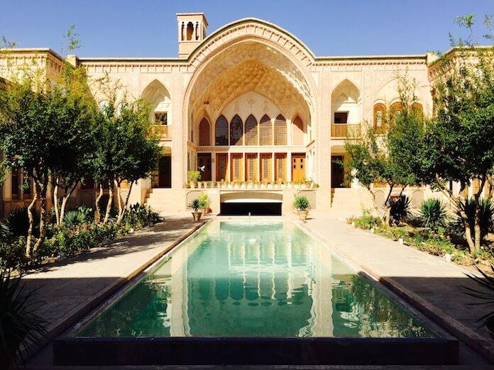 Reisen im Iran: Ameriha Traditional House, Kashan (Foto: timetoiran)