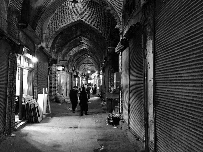Grand Bazaar, Tabriz