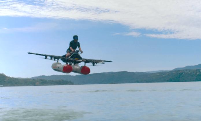 Kitty Hawk: Dieses fliegende Auto kommt schon 2017 auf dem Markt (Foto: Screenshot, Youtube)
