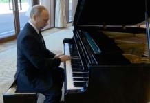 Wladimir Putin Klavier