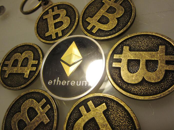 Bitcoin bald nicht mehr die größte digitale Währung. Ethereum heißt der neue Spitzenreiter. (Foto: BTC Keychain)