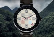 Die neue Louis Vuitton Uhr: Tambour Horizon (Foto: Screenshot, Youtube)
