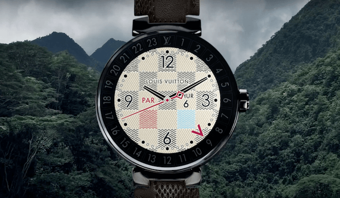 Die neue Louis Vuitton Uhr: Tambour Horizon (Foto: Screenshot, Youtube)