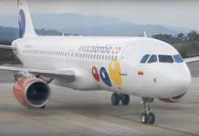 VivaColombia möchte Stehplätze in ihren Flugzeugen (Foto: Screenshot, Youtube)