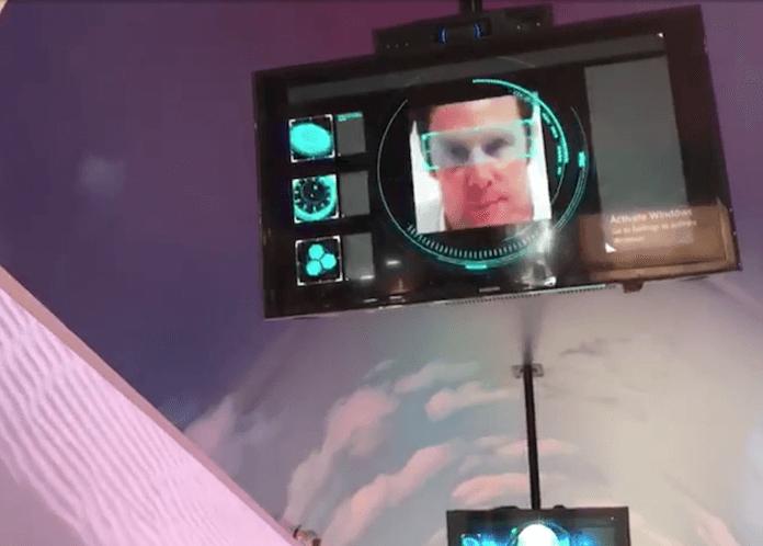 Gesichtsscanner ersetzen traditionelle Sicherheitskontrollen in Dubai (Foto: Screenshot, The National)