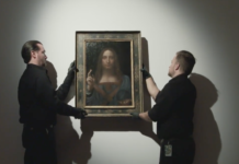 Letzter Da Vinci in Privatbesitz zum Verkauf freigegeben (Foto: Christie's, Youtube)